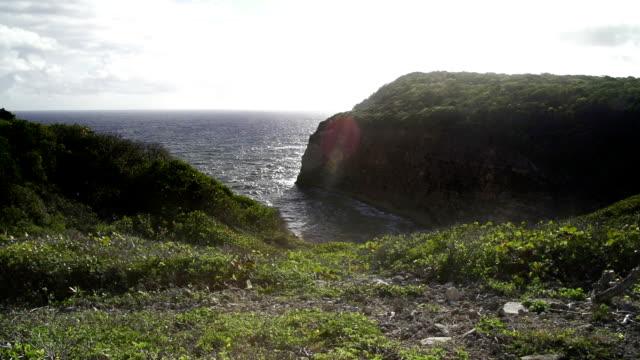 vidéos et rushes de cliff - guadeloupe