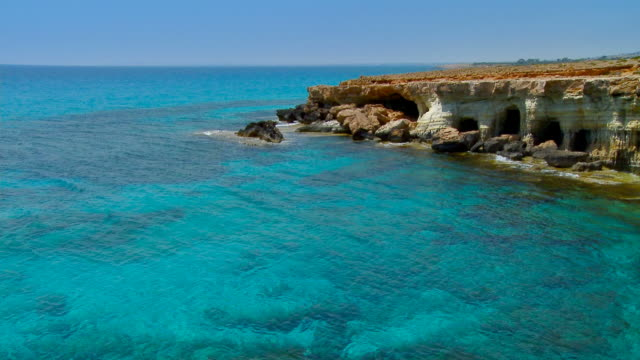 Cliff With Crystal Blue Waters - Full HD