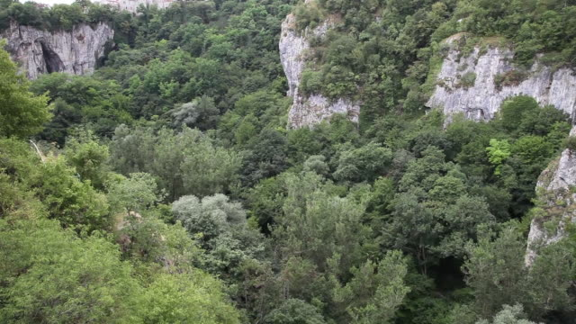 cliffs in pazin city - cliff dwelling stock videos & royalty-free footage