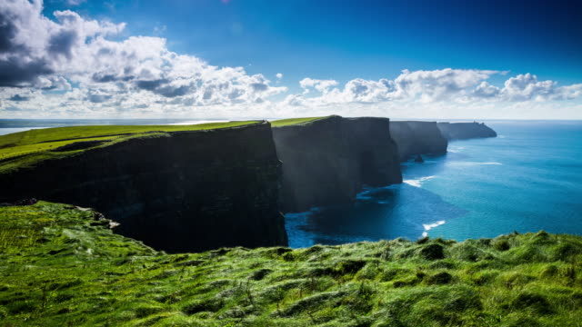 Cliffs Of Moher In Irland - Time Lapse