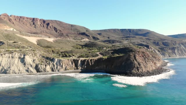 cliffs - baja california peninsula stock videos & royalty-free footage