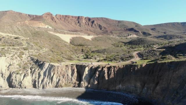 cliffs - baja california peninsula stock videos & royalty-free footage