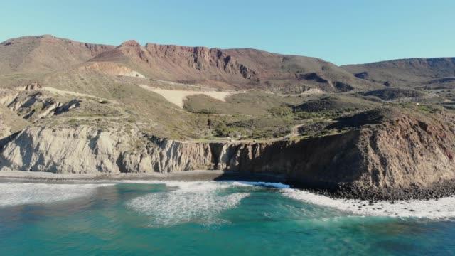 崖 - バハカリフォルニア点の映像素材/bロール