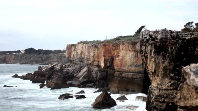 崖(hd - カスカイス点の映像素材/bロール