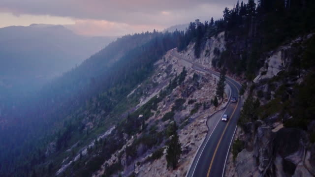 Cliffside Highway - Aerial View