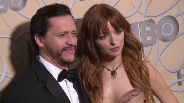Clifton Collins Jr Francesca Eastwood at HBO's Official Golden Globe Awards After Party in Los Angeles CA
