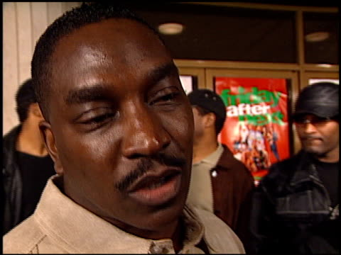 clifton powell at the 'friday after next' premiere at the mann national theatre in westwood california on november 13 2002 - mann national theater stock videos and b-roll footage