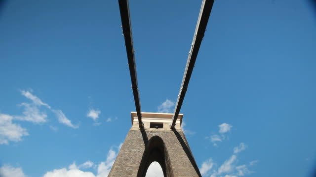 clifton suspension bridge - bristol england stock videos & royalty-free footage