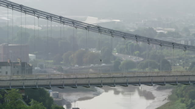 clifton suspension bridge - clifton suspension bridge stock videos and b-roll footage