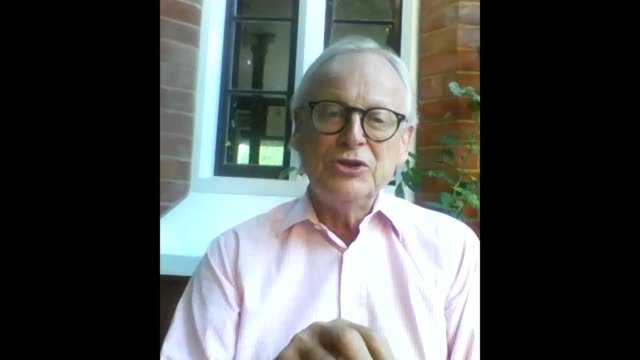 climate advisers warn of surge in carbon emissions as uk lockdown ends england int lord deben set up shot with reporter / interview via internet sot... - rubble stock videos & royalty-free footage