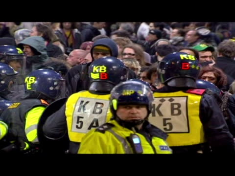 Climate Camp Protesters clash with police
