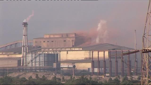 Failure of Carbon Emissions Trading Scheme Karnataka DAY Industrial steel complex DISSOLVE TO