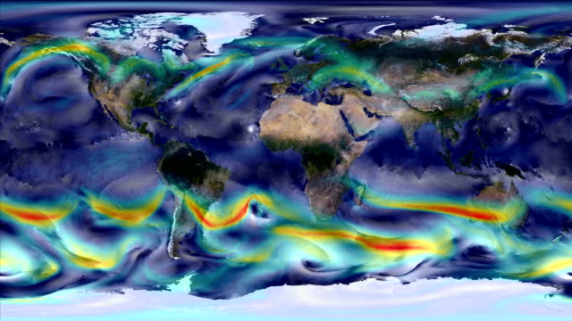 climate change influences and weather - meteorology stock videos & royalty-free footage