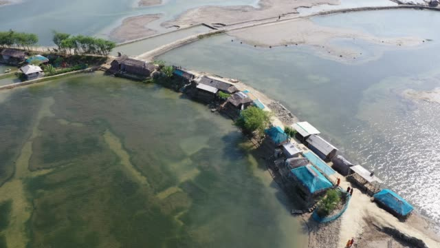 climate change is sinking islands of bangladesh - bangladesh stock videos & royalty-free footage
