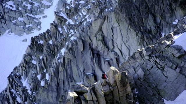 climber on ridge - yosemite national park stock videos and b-roll footage
