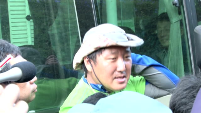 Climbers who survived Saturday's eruption of Mt Ontake voiced their relief after successfully descending the mountain on Sunday September 28 At a...