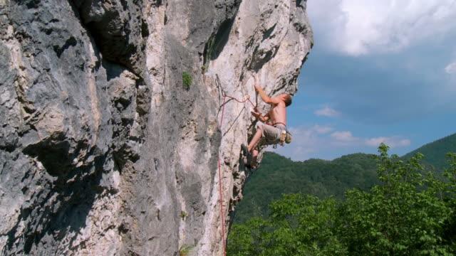 HD CRANE: Climbing A Rock Wall