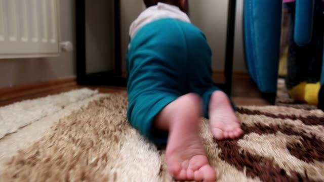 climbing baby - crawling stock videos & royalty-free footage