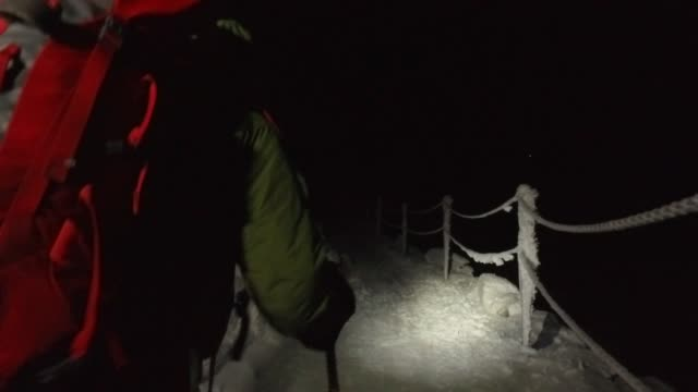 climbing during winter - ski holiday stock videos & royalty-free footage