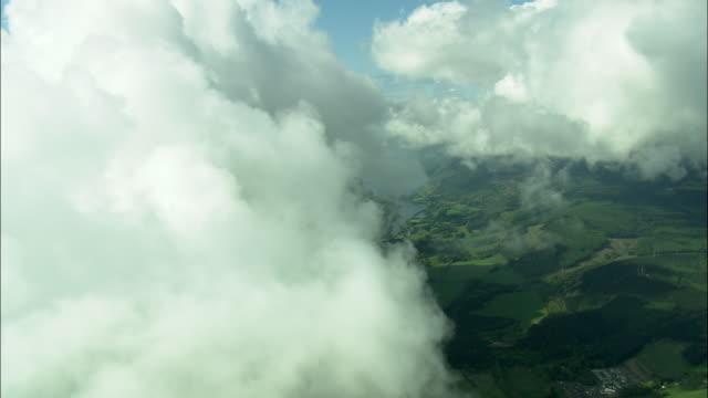 Climbing Through The Clouds Approaching Loch Ness