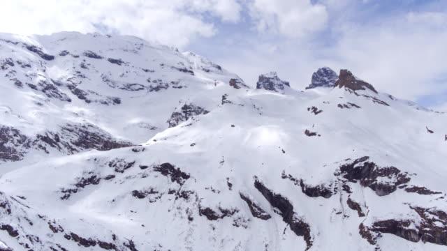 aufstieg von engelberg titlis - 360 grad panorama stock-videos und b-roll-filmmaterial