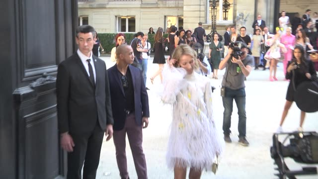 céline dion attends the valentino haute couture fall/winter 2019 2020 show as part of paris fashion week on july 03 2019 in paris france - céline dion stock videos & royalty-free footage
