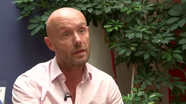 clinic breaches confidentiality over hiv testing england london int paul fleming interview sot not ashamed of having hiv but lots of people really... - retrovirus stock videos and b-roll footage