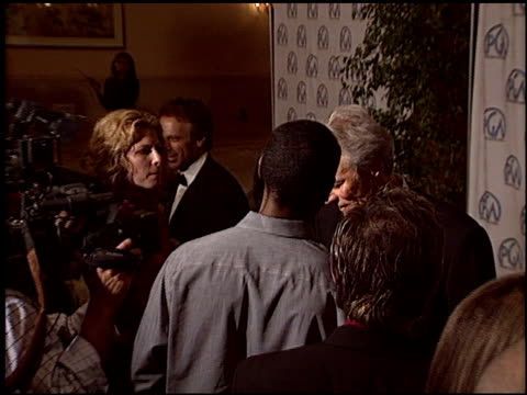 stockvideo's en b-roll-footage met clint eastwood at the 2004 producers guild of america awards at the century plaza hotel in century city california on january 17 2004 - century plaza