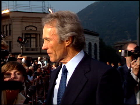Clint Eastwood at the 'Bridges of Madison County' Premiere at Warner Brothers Lot in Burbank California on May 30 1995