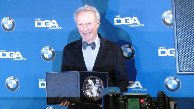 Clint Eastwood at the Hyatt Regency Century Plaza on February 07 2015 in Century City California