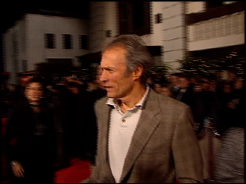 Clint Eastwood at the Premiere of 'The Postman' at Warner Theater in Burbank California on December 12 1997