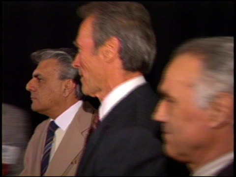 clint eastwood at the showest 93 on january 1, 1993. - 1993 stock videos & royalty-free footage