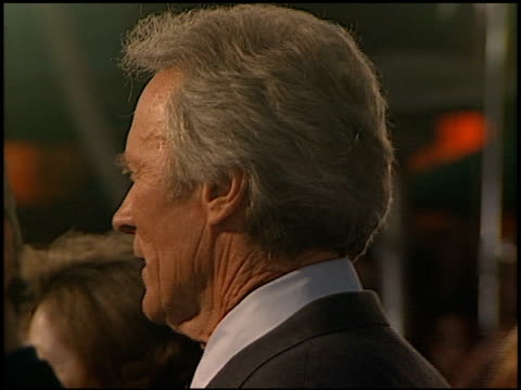 Clint Eastwood at the 'Space Cowboys' Premiere on August 1 2000