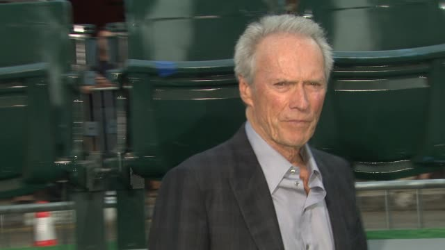 Clint Eastwood at Trouble With The Curve Los Angeles Premiere on 9/19/12 in Westwood CA