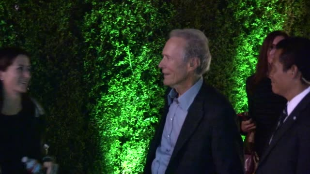 Clint Eastwood departs Trouble With The Curve After Party in Westwood 09/19/12