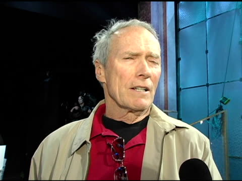 Clint Eastwood on acting as an ensemble artform and on working with the ensemble cast of 'Million Dollar Babies' at the 2005 Screen Actors Guild SAG...