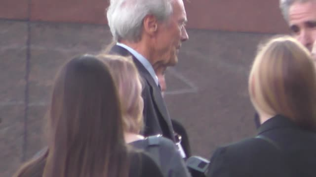 Clint Eastwood outside Sully Premiere at DGA Theatre in West Hollywood in Celebrity Sightings in Los Angeles