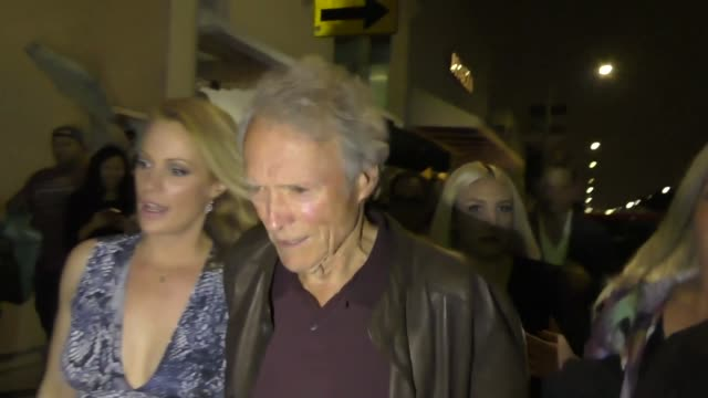 Clint Eastwood outside the 3rd Annual Art For Animals Fundraiser at De Re Gallery in Los Angeles at Celebrity Sightings in Los Angeles on May 05 2017...