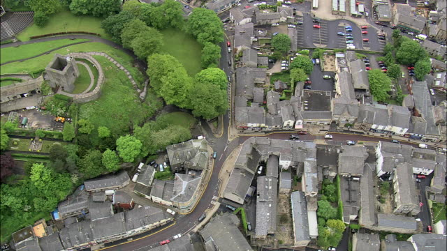 clitheroe and castle - lancashire stock videos and b-roll footage