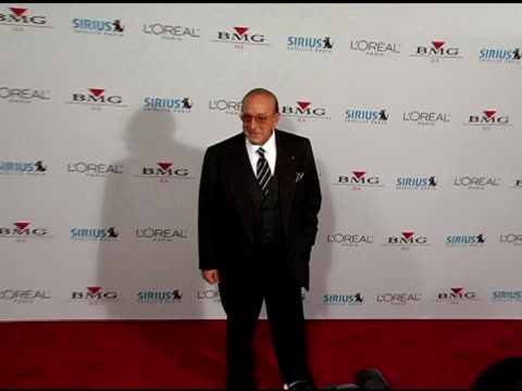clive davis at the clive davis' 2005 pre-grammy awards party arrivals at the beverly hilton in beverly hills, california on february 12, 2005. - clive davis stock videos & royalty-free footage