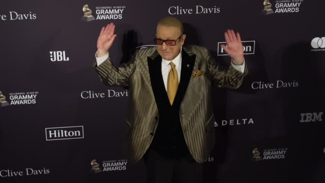 clive davis at the recording academy and clive davis' 2020 pre-grammy gala at the beverly hilton hotel on january 25, 2020 in beverly hills,... - clive davis stock videos & royalty-free footage