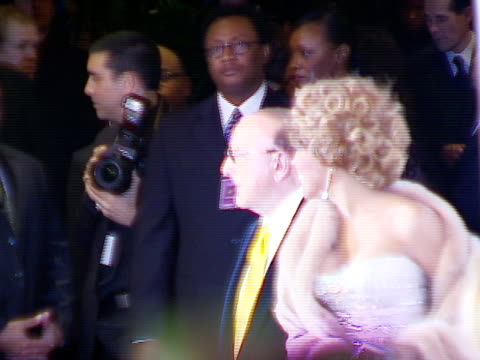 clive davis, whitney houston at the legendary clive davis pre-grammy party at beverly hills california. - whitney houston stock-videos und b-roll-filmmaterial