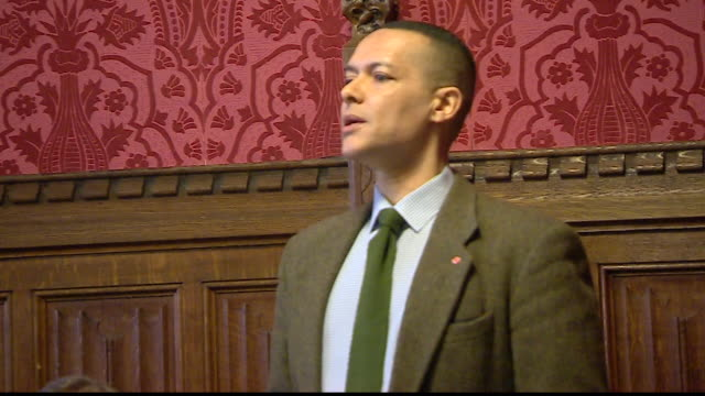 Clive Lewis saying MP's splitting from the Labour Party 'are facilitating a Tory Brexit and the ramifications for our party will be severe'