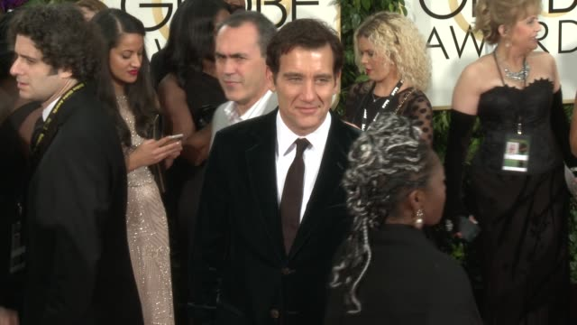Clive Owen at 72nd Annual Golden Globe Awards Arrivals at The Beverly Hilton Hotel on January 11 2015 in Beverly Hills California