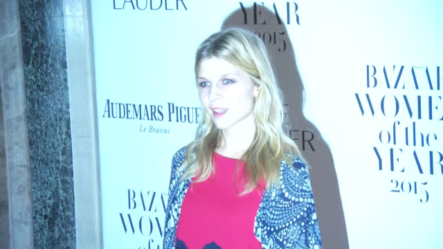 Clémence Poésy at Harper's Bazaar Women of the Year Awards at Claridge's Hotel on November 03 2015 in London England