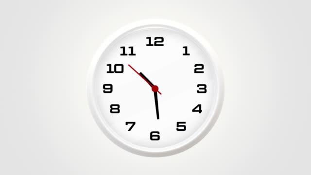 vídeos y material grabado en eventos de stock de reloj 10:30 em - 10 seconds or greater