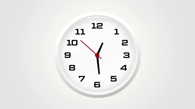 vídeos de stock, filmes e b-roll de relógio das em - 1 minute or greater