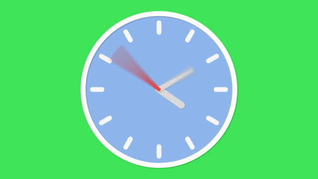 clock animation - day stock videos & royalty-free footage