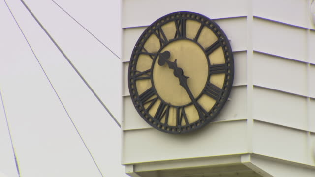 ms clock at lords cricket ground / london united kingdom - lords cricket ground stock videos and b-roll footage