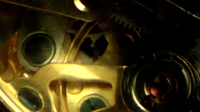 Clock Detail - Inside Slow Motion C
